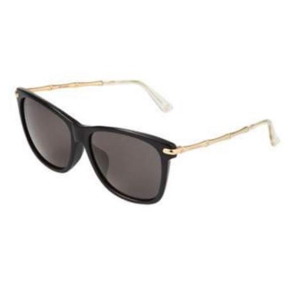 b116bc5e50f Gucci Two-Tone Cat-Eye Combo Sunglasses